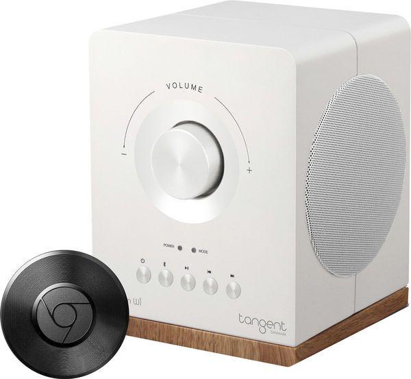 Enceinte sans fil fixe Tangent Spectrum W1 + Boitier multimédia Google Chromecast Audio
