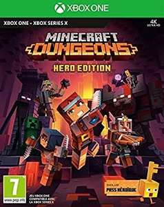 Minecraft Dungeons - Hero Edition sur Xbox Series X (vendeur tiers)