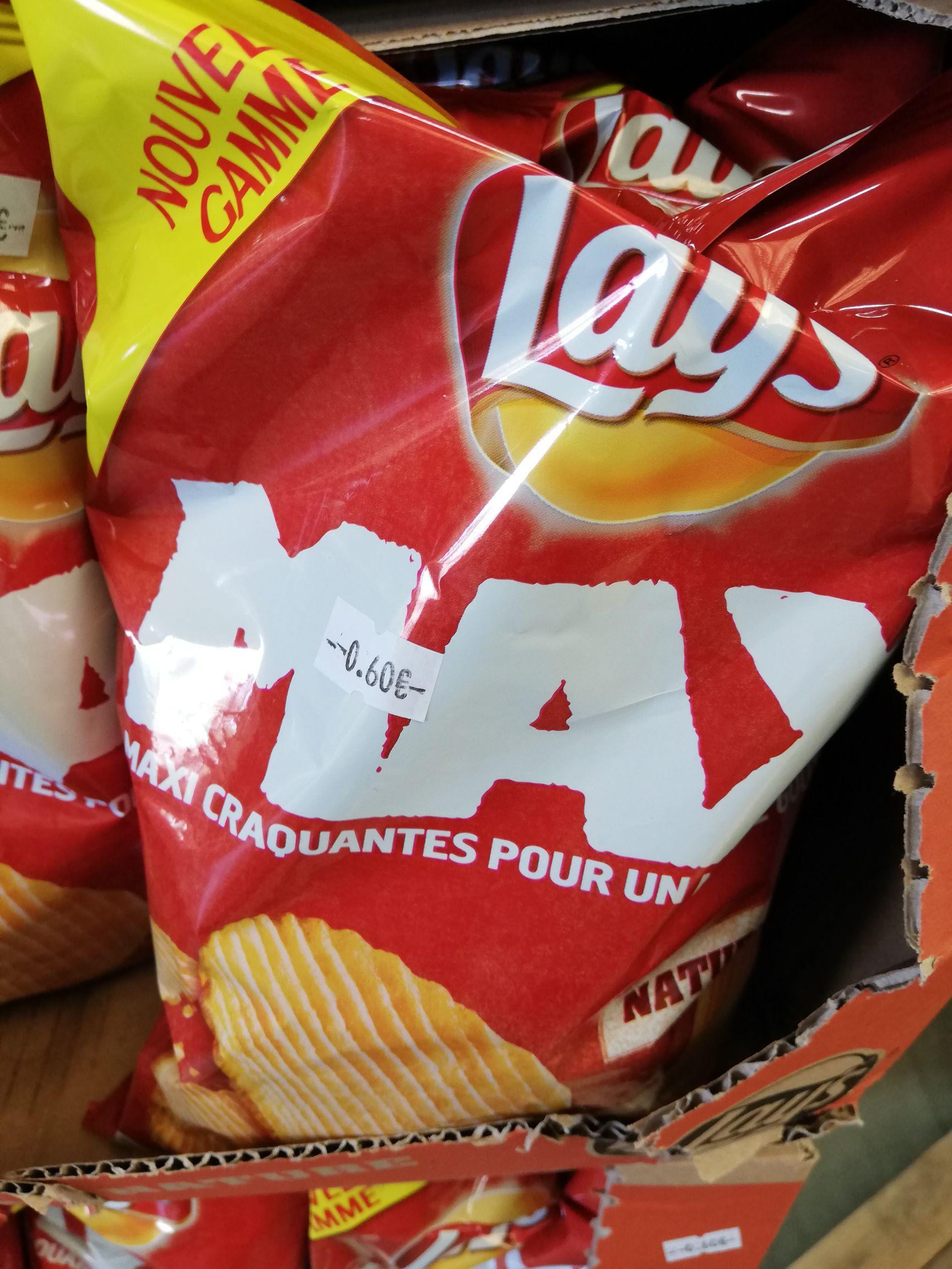 Sélection de paquets de chips et gâteaux apéritifs à 0.60€ (DLUO dépassée) - Affaires Bati Déco à St Gilles Croix de Vie (85)