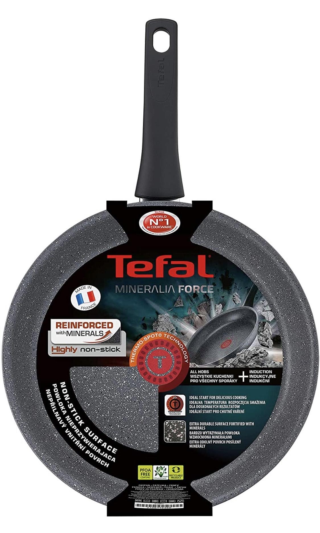 Poêle Tefal Mineralia Force (21 cm, tous feux dont induction) + Spiralizer