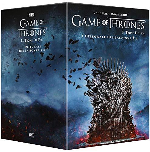 Coffret DVD Game of Thrones (Le Trône De Fer) - L'intégrale des saisons 1 à 8
