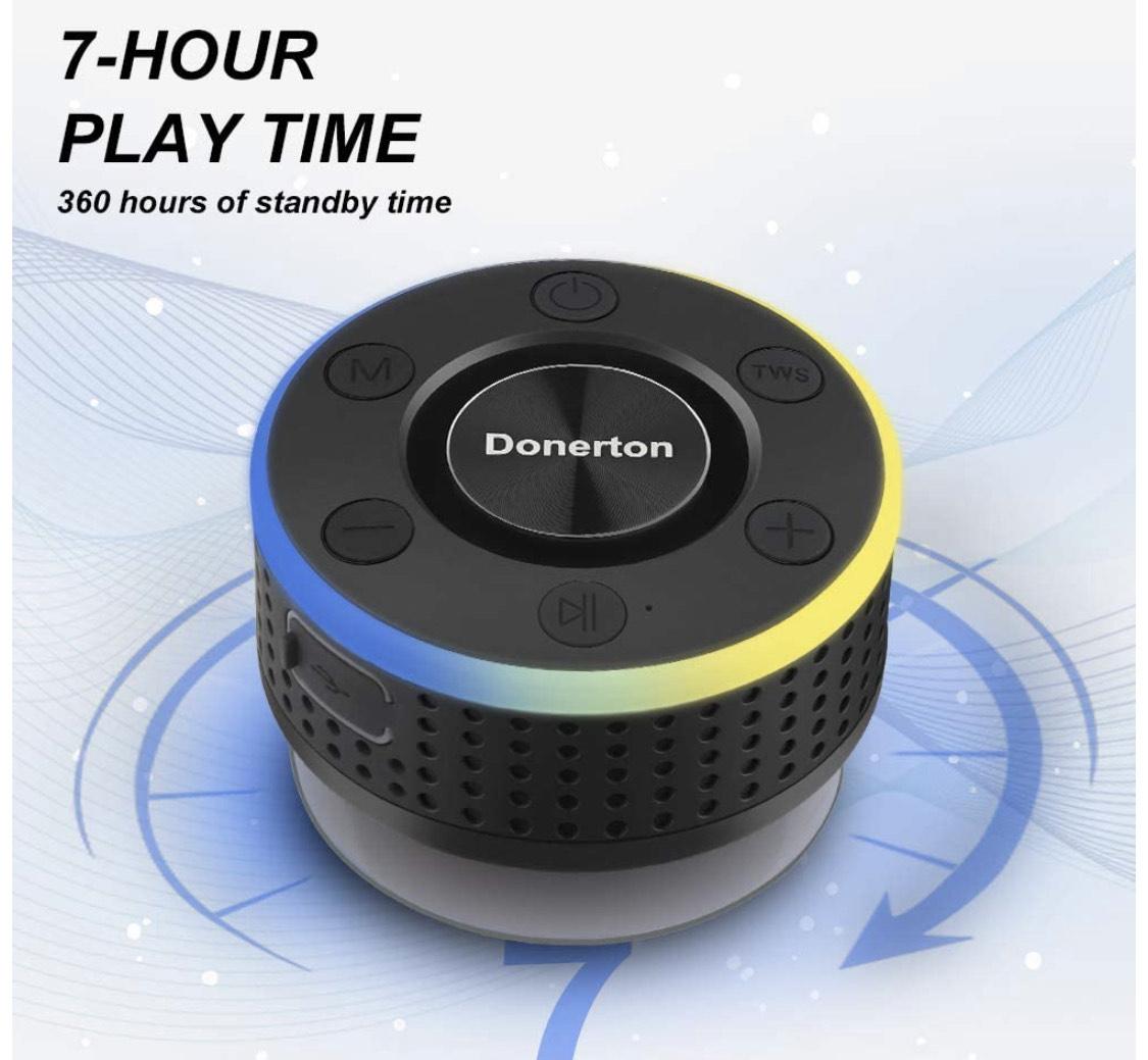 Enceinte Bluetooth Donerton étanche (Vendeur tiers)