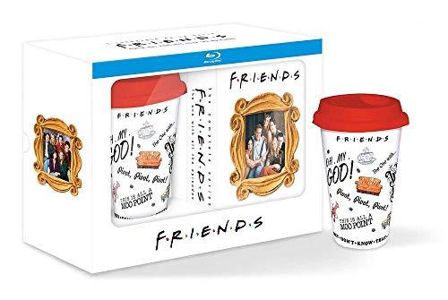 Coffret Blu-ray : Friends - L'intégrale - Saisons 1 à 10 avec un mug