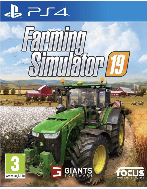 Jeu Farming Simulator 19 sur PS4