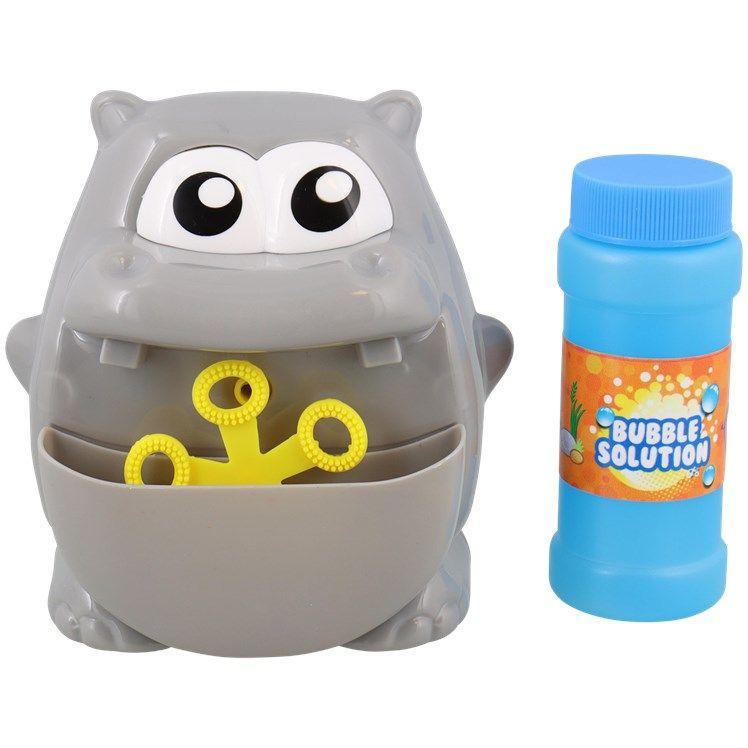 Machine à bulles de savon design animal + 50ml de savon (différents modèles au choix)