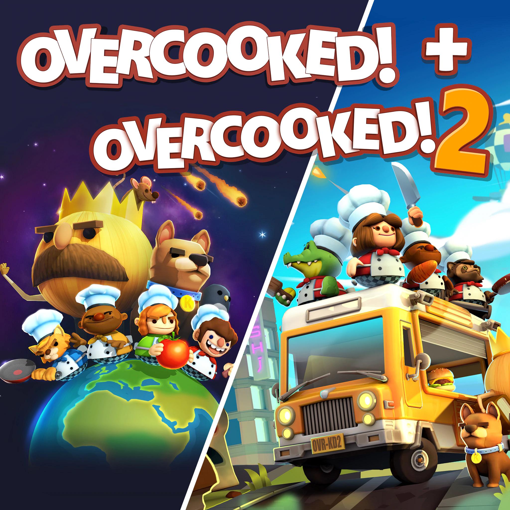Jeux Overcooked! + Overcooked! 2 sur PS4 - 10,49€ pour les abonnés PS+ (Dématérialisé)