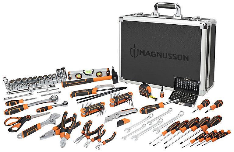 Mallette à outils Magnusson - 137 pièces