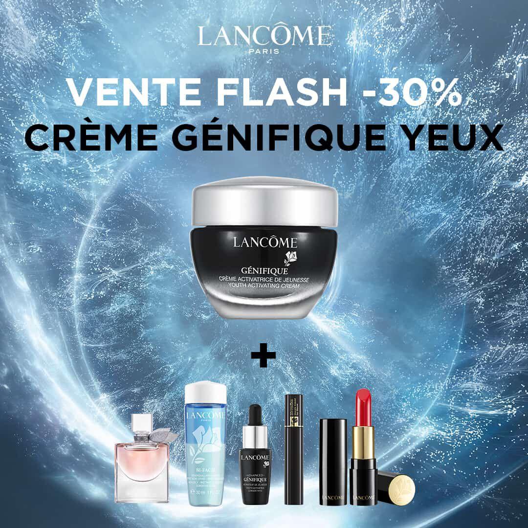Crème yeux Lancôme Génifique + 5 Miniatures offertes