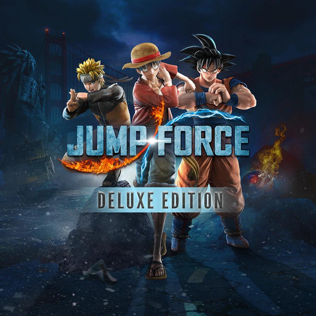 Sélection de jeux sur Switch en promotion (Dématérialisés) - Ex: Jump Force Deluxe Edition (Store RU)