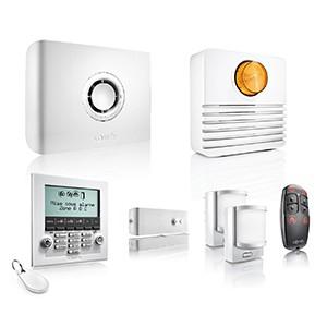 Sélection de produits Somfy en promotion - Ex : pack alarme Protexiom Ultimate GSM (3 détecteurs + centrale + sirène + clavier + badge)