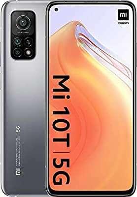 """Smartphone 6.67"""" Xiaomi Mi 10T 5G - Full HD+, Snapdragon 865, 6 Go RAM, 128 Go, gris ou noir (331.04€ via FRMAR20)"""