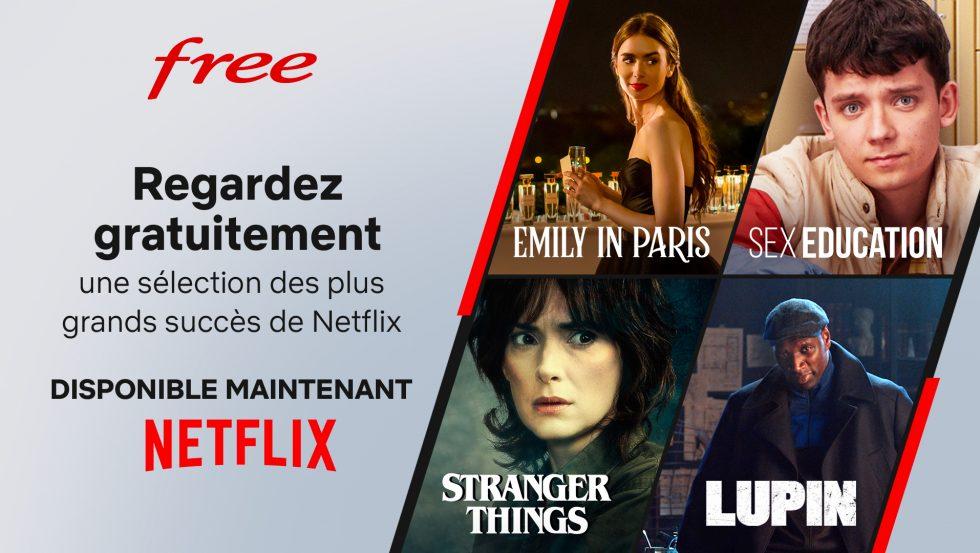 [Abonnés Freebox] Accès gratuit au séances découvertes Netflix