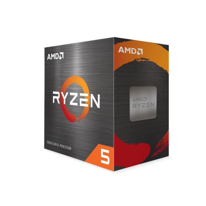 Processeur AMD Ryzen 5 5600X - Socket AM4 (+56,40€ à 94€ en Rakuten Points) - Vendeur Cdiscount
