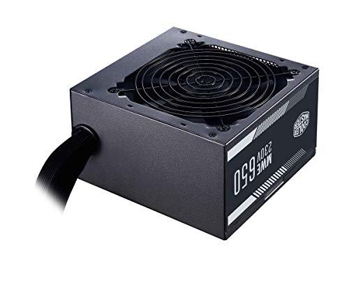 Bloc d'alimentation PC CoolerMaster MWE White 230V V2 - 80Plus, 650 W