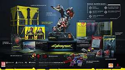 Cyberpunk 2077 - Édition Collector sur PS4