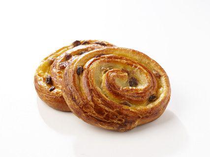 Lot de 3 pains / escargots aux raisins pur beurre cuits sur place (285 g)