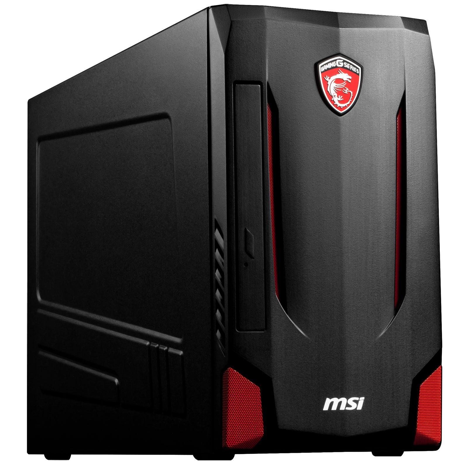 PC de bureau MSI Nightblade - i7 4790S 3.2 GHz, 8 Go RAM, 128 Go SSD + 2 To, GeForce GTX960