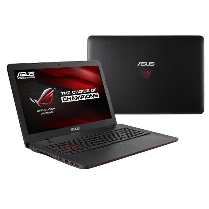"PC portable gamer 15.6"" Asus ROG GL551JW-XO376T - i5-4200H, 8 Go RAM, GeForce GTX960M (+159,8 € en bon d'achat offert)"