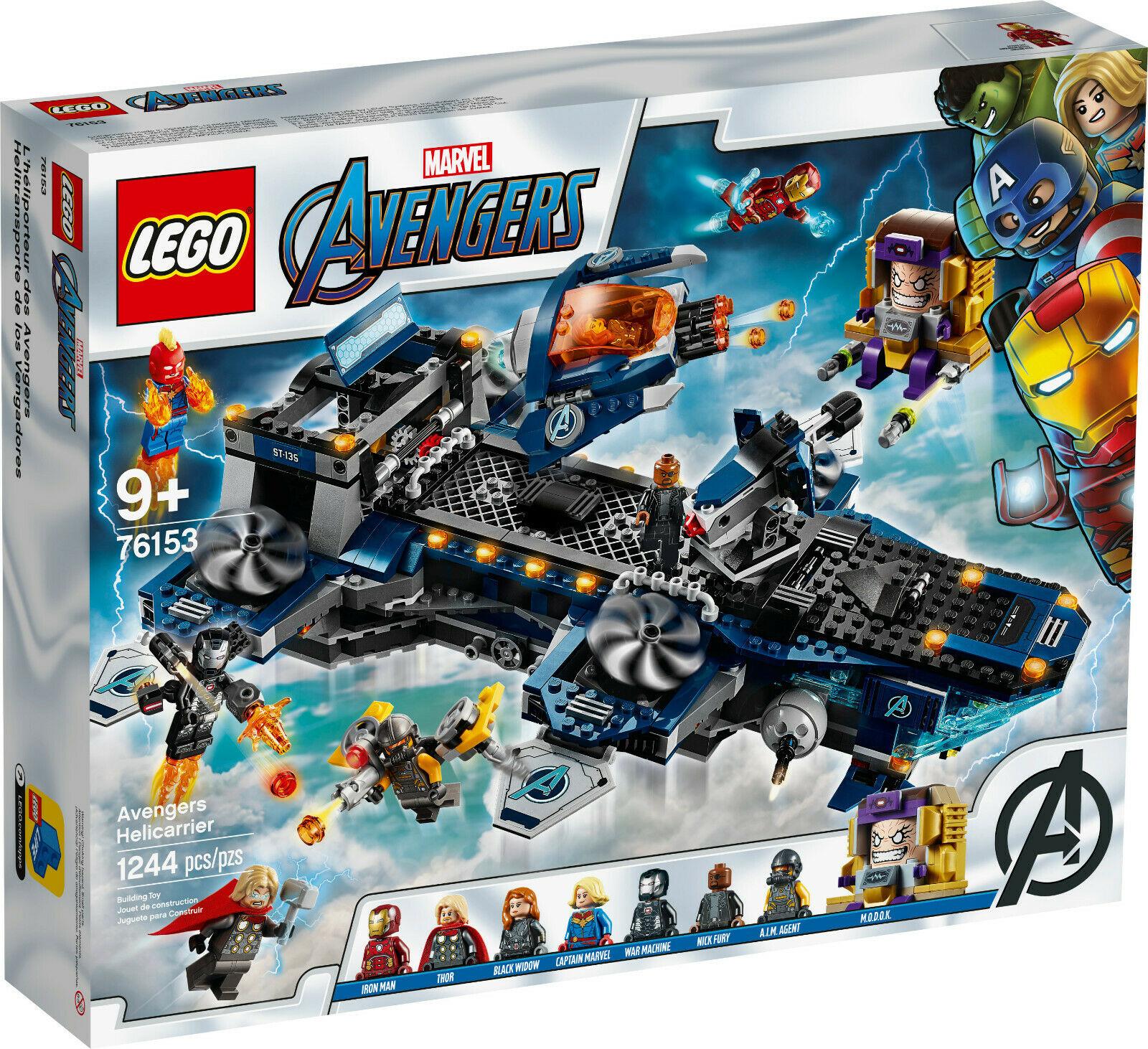 Lego Marvel Avengers (76153) - L'héliporteur des Avengers