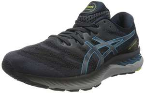 Chaussures de Running Asics Nimbus 23 homme - Couleur: Carrier Grey Digital Aqua, Plusieurs tailles au choix