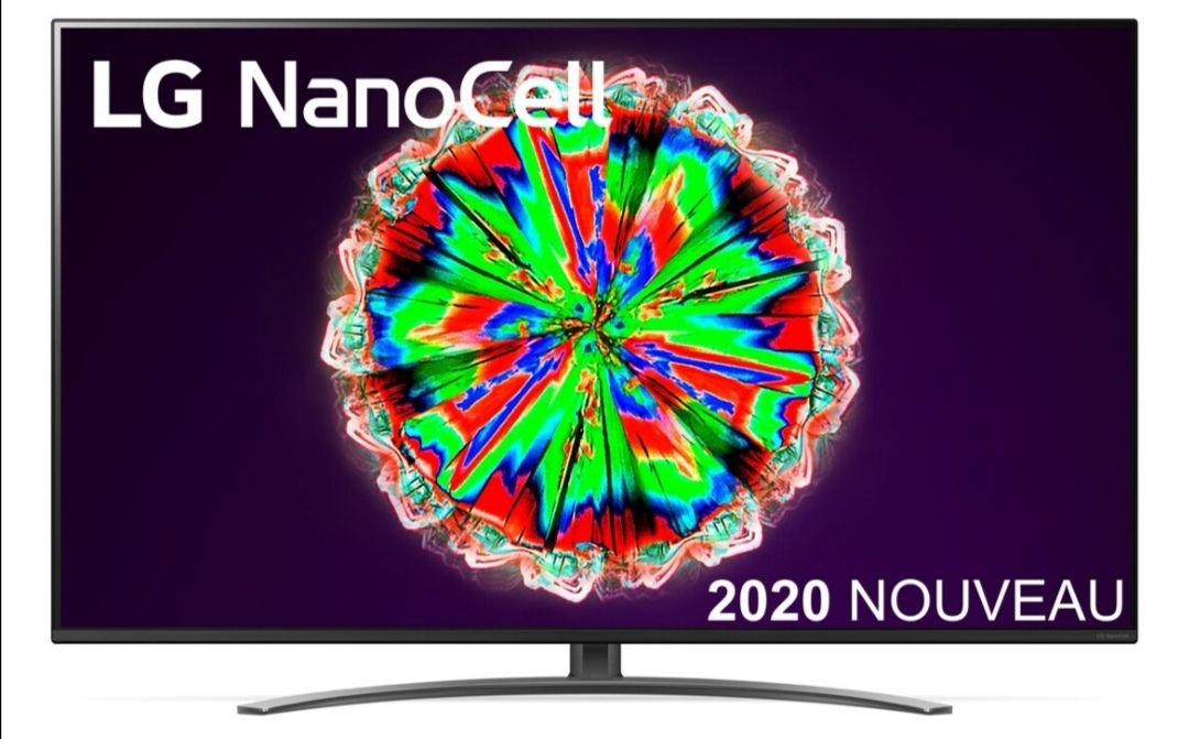"TV 65"" Nanocell LG 65NANO816 - 4K UHD, Smart TV (Frontaliers Suisse)"