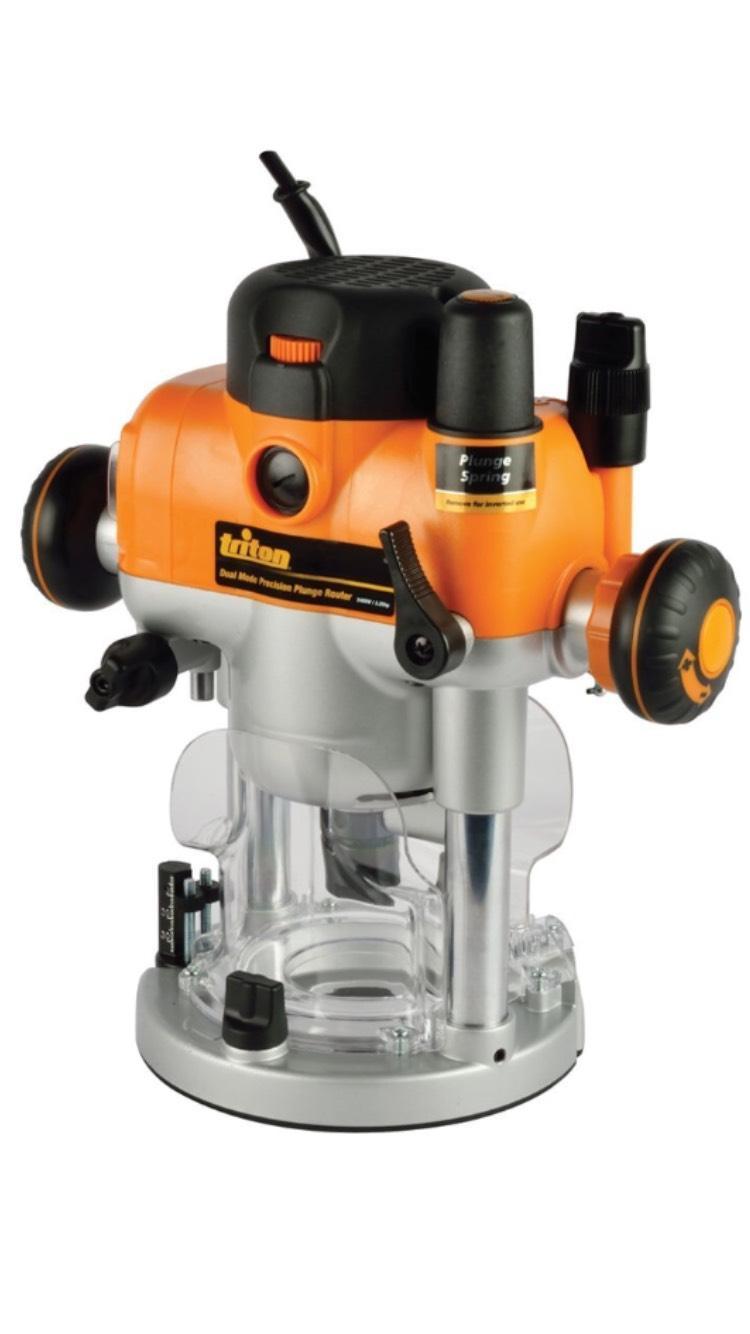 Défonceuse de précision bi-mode Triton 330165/TRA001 - 2400 W