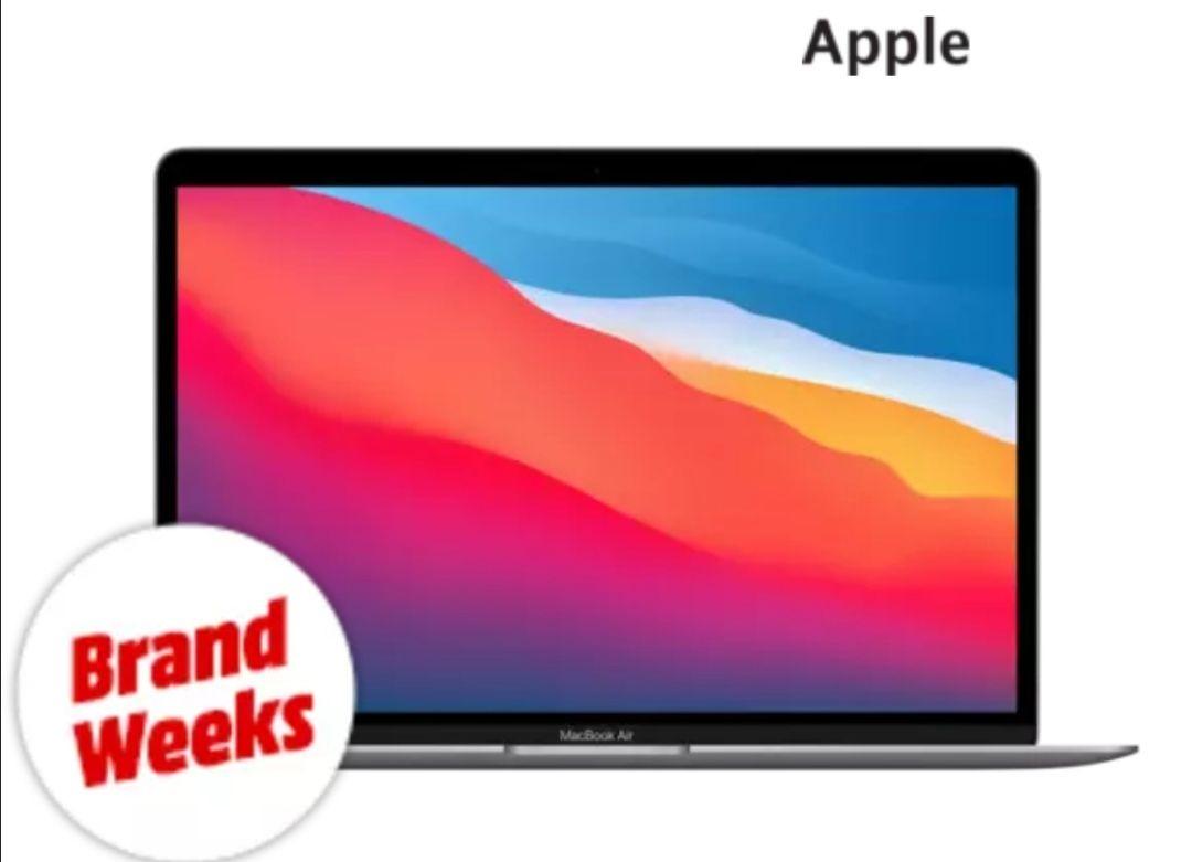 "PC Portable 13.3"" Apple MacBook Air (2020) - Puce Apple M1, 8 Go RAM, 256 Go SSD, Space Grey, QWERTZ (Frontaliers Suisse)"