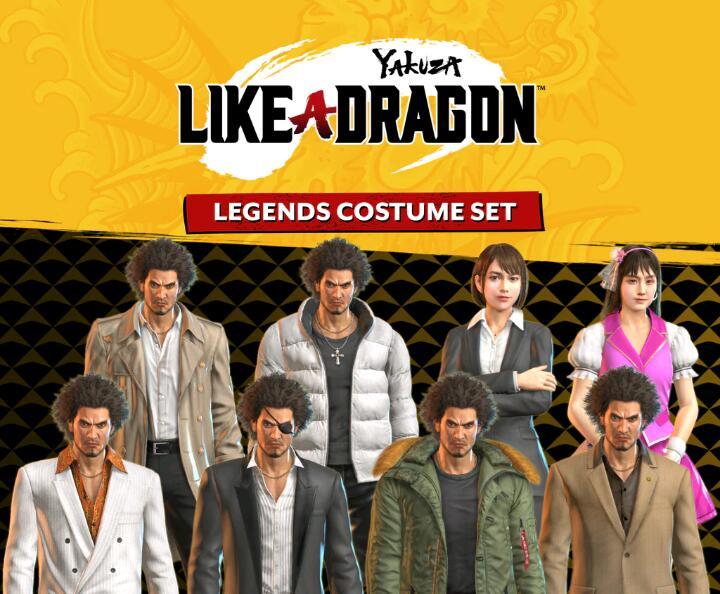 Yakuza: Like a Dragon - Lot Costumes des légendes gratuit sur PS5 (Dématérialisé)