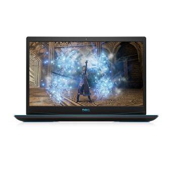 "PC Portable Gaming 15.6"" Dell G3 15 - Full HD, i5-10300H, 8 Go RAM, 512 Go SSD, GTX 1650, Windows 10, Noir éclipse"