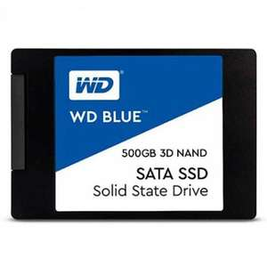 "SSD interne 2.5"" Western Digital WD Blue (TLC 3D, DRAM) - 500 Go"