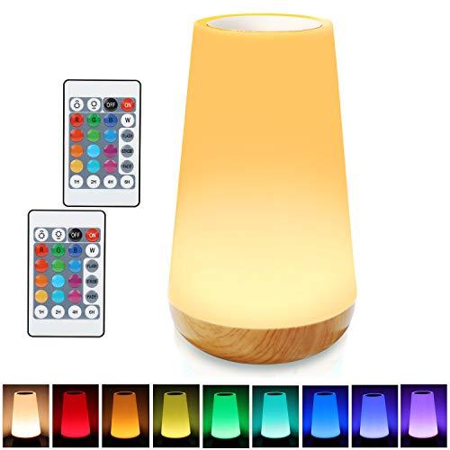 Lampe de chevet LED rechargeable Taipow - luminosité ajustable, 15 cm, 1600 mAh (vendeur tiers)