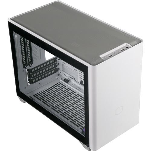 Boitier PC Cooler Master MasterBox NR200P - Blanc/Noir