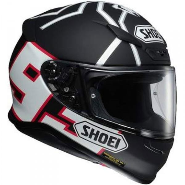 Casque moto integral Shoei NXR marquez - Noir mat