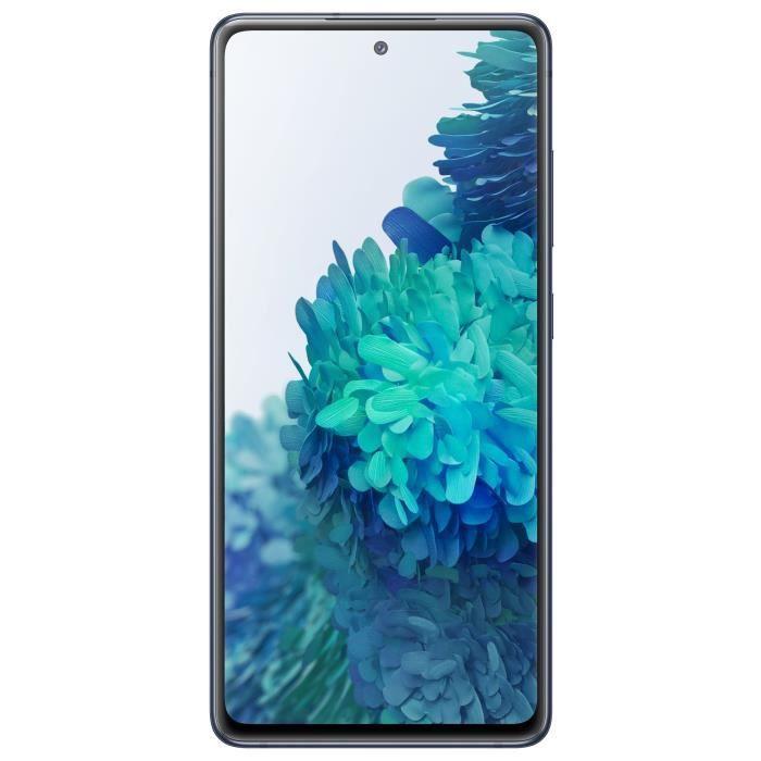 """Smartphone 6.5"""" Samsung Galaxy S20 FE 4G - Double SIM, 6 Go RAM, 128 Go, Coloris au choix (Via 100€ d'ODR)"""