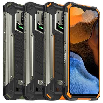 """Smartphone 6.3"""" Doogee S88 Plus (Global - B20/28) - Batterie 10000mAh, Étanche IP68/IP69K, Full HD+, Helio P70, RAM 8 Go, 128 Go, NFC"""