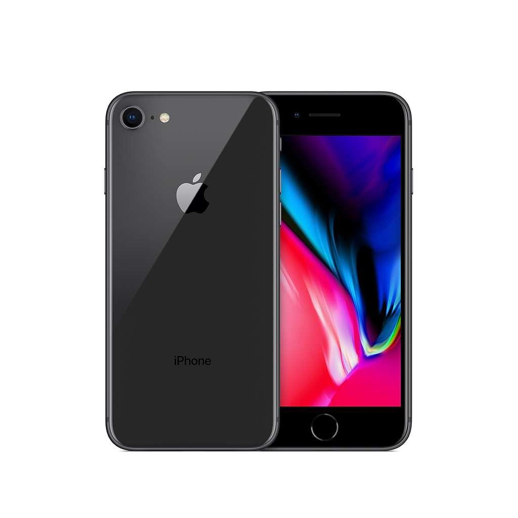 """Smartphone 4.7"""" Apple iPhone 8 (64 Go, Reconditionné, grade A) + Forfait RED SFR pendant 24 mois (appels/SMS/MMS Illimités + 100 Go DATA)"""