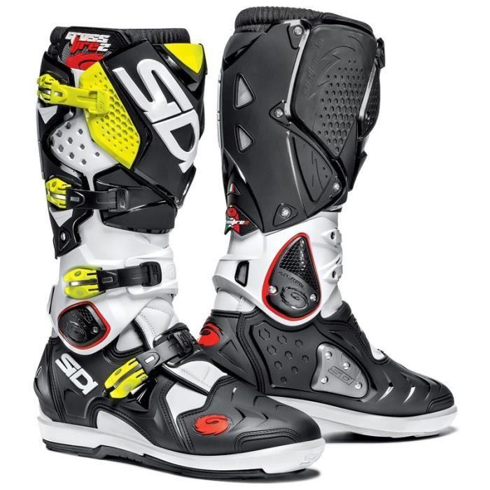 Bottes de motocross Enduro Sidi Crossfire 2 SRS (Taille 40 et 41)