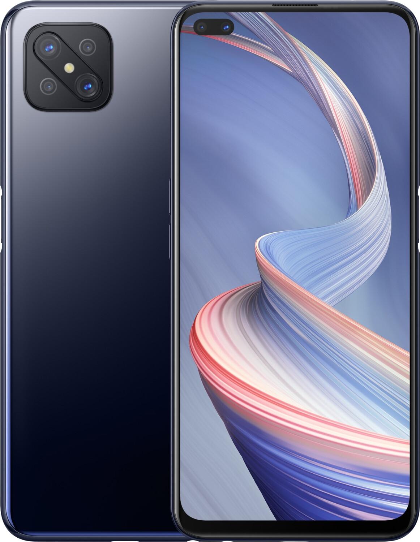 "Smartphone 6.57"" Oppo Reno4 Z 5G - full HD+ 120 Hz, Dimensity 800, 8 de RAM, 128 Go, noir (via ODR de 50€)"