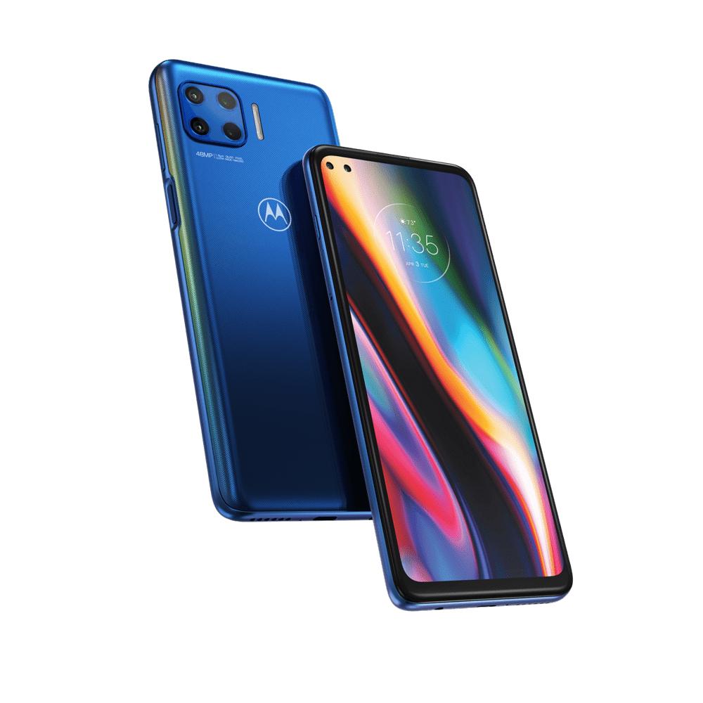 """Smartphone 6.7"""" Motorola Moto G 5G Plus (4 Go RAM, 64 Go, Dual SIM) + Ecouteurs sans fil Motorola VerveBuds 110 (Bluetooth 5.0)"""