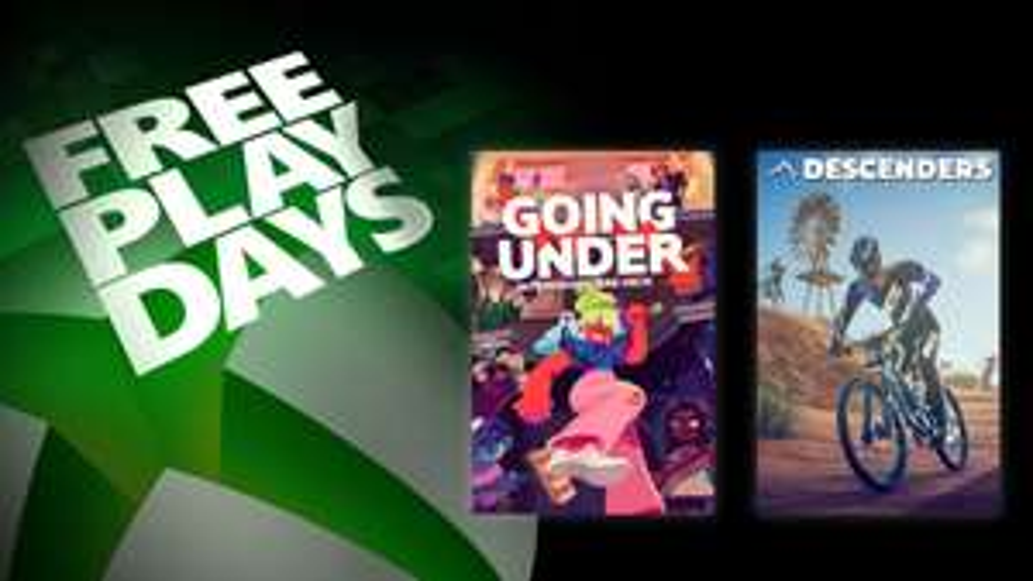 [Gold] Jeux Descenders & Going Under jouables gratuitement ce weekend sur Xbox One / Series X | S (Dématérialisés)