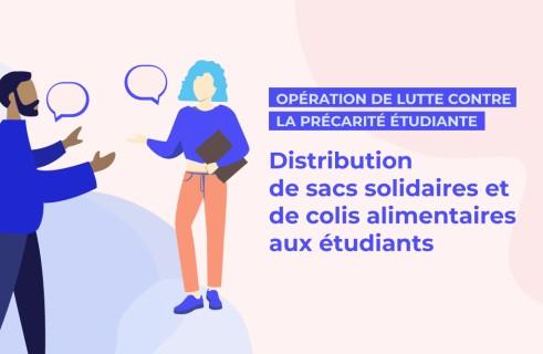 [Etudiants] Distribution de sacs solidaires et colis alimentaires - Mulhouse / Colmar (68)