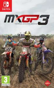 MXGP3 - The Official Motocross Videogame sur Nintendo Switch (Dématérialisé)