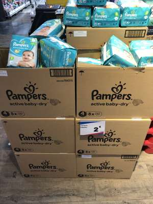 Pack de couches Pampers Active Baby Dry (Frontaliers Belgique - Drogenbos)
