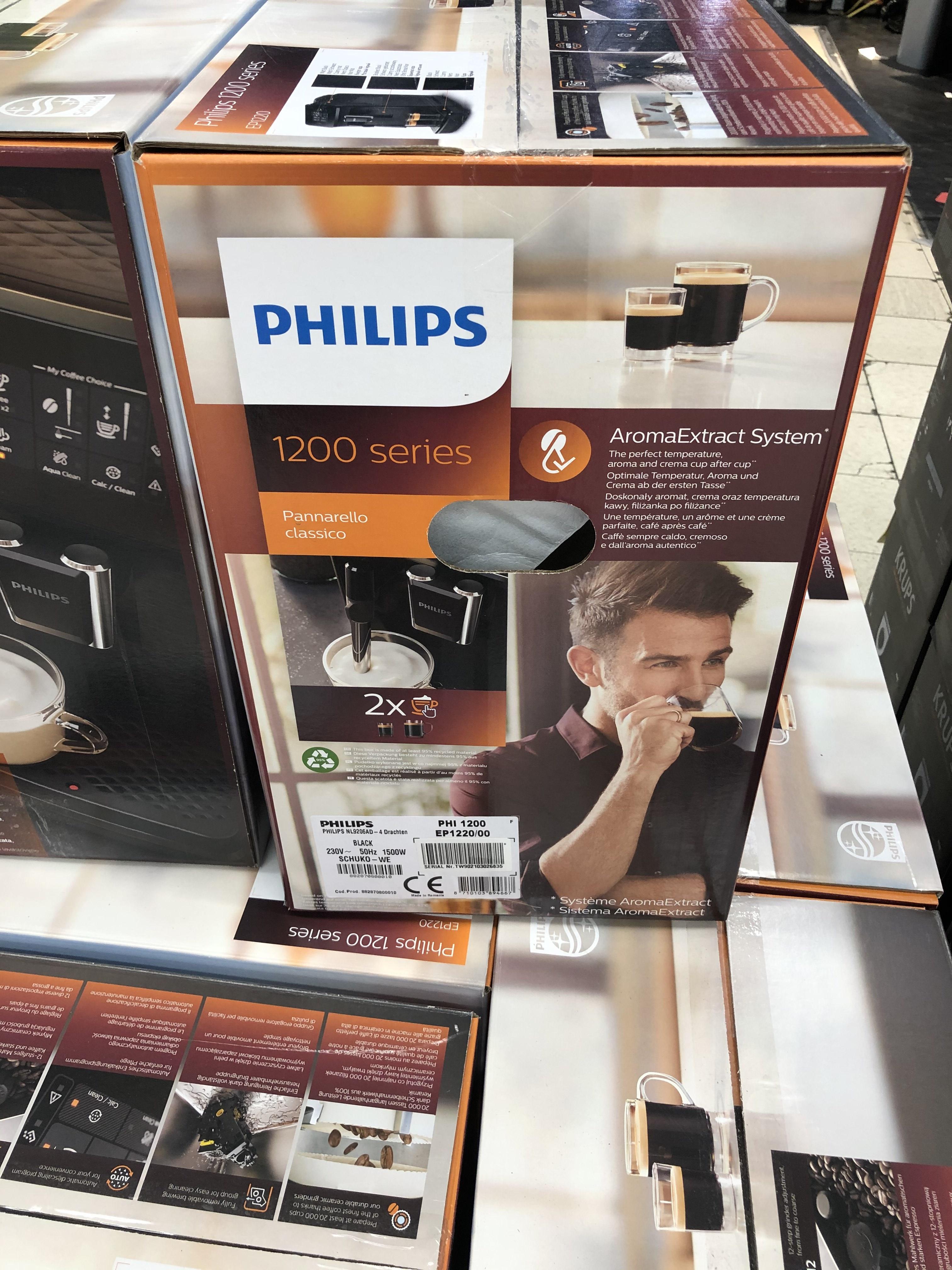 Machine à café avec broyeur à grains Philips EP12200/00 - Drogenbos (Frontaliers Belgique)