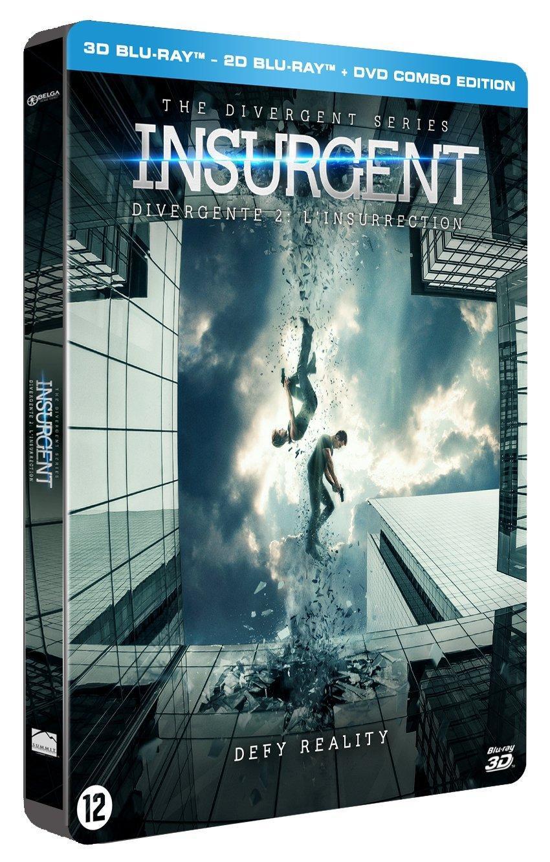 Coffret Divergente 2 : L'Insurrection Blu-Ray 3D + 2D + DVD Steelbook