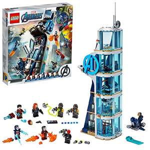 Lego Super Heroes Marvel 76166 - La tour de tour de combat des Avengers