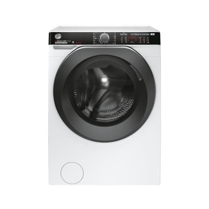 Lave linge séchant Hoover Wash&Dry 500 HDP4149AMBC/1-S - 14Kg, Séchage 9Kg , 1400 tours/min - Blanc