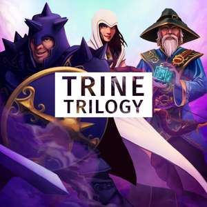 Trine Trilogy : Trine Enchanted Edition + Trine 2 : Complete Story + Trine 3 : The Artifacts of Power sur PS4 (Dématérialisés)