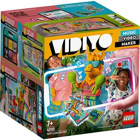Jouet Lego Vidiyo 43105 & 43106 - Music Video Maker (Vai 4.22€ sur la carte fidélité)