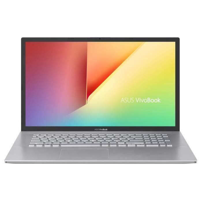 PC portable 17'' Asus Vivobook S S712DAM-BX512T - HD+, Ryzen 3-3200U, RAM 8Go, HDD 1To + 128Go SSD, Windows 10 + Norton 360 Deluxe offert